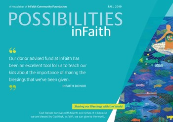 The cover of the fall 2019 issue of Possibilities InFaith.